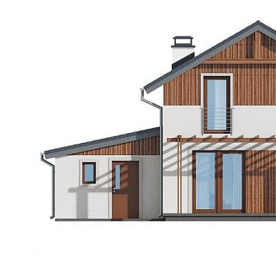 Обмер фасадов для возведения пристройки