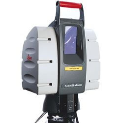 Фасадная съемка сканером
